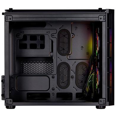 Gabinete Gamer Corsair Crystal Series 280X, RGB, Vidro Temperado, Preto - CC-9011135-WW