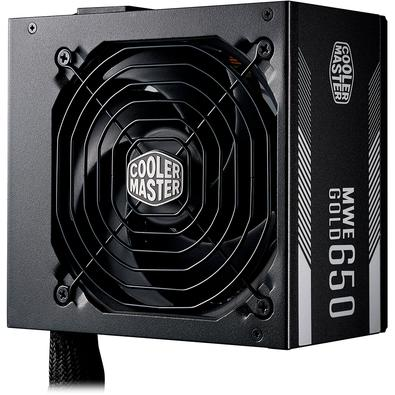 Fonte Cooler Master MWE 650W, 80 Plus Gold - MPY-6501-ACAAG