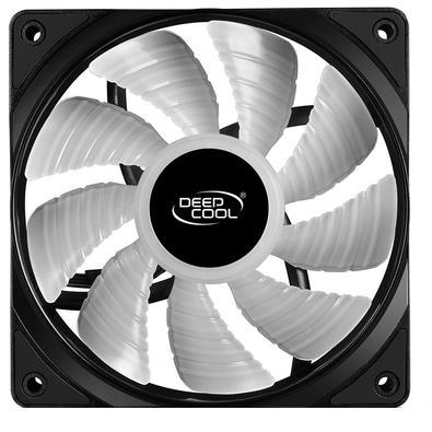 Cooler Fan DeepCool RF 120, RGB, 12cm - DP-FRGB-RF120-1C
