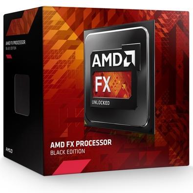 Processador AMD FX 6300 Black, Cache 14MB, 3.5GHz (3.8GHz Max Turbo), AM3+, Sem Vídeo - FD6300WMHKSBX