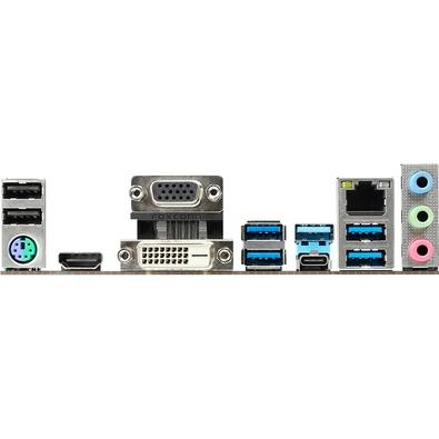 Placa-Mãe ASRock B365 Pro4, Intel LGA 1151, ATX, DDR4 - 90-MXB9V0-A0UAYZ