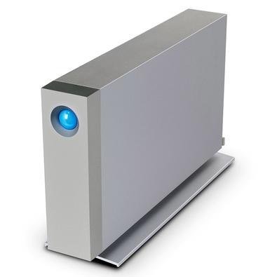 HD LaCie Externo D2 Thunderbolt 3, 8TB, USB 3.1, Titanium Silver - STFY8000400