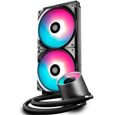 Water Cooler Deepcool Castle 280 RGB, 14cm - DP-GS-H12L-CSL280RGB