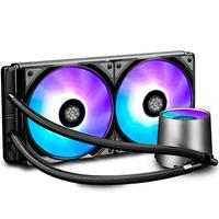 Water Cooler Deepcool Castle 280 RGB, 14cm - DP-GS-H12L-CSL280RGB