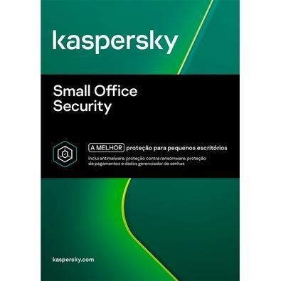 Kaspersky Small Office Security 2020 6 Multidispositivos 10 PCs + 10 Mobile + 1 Server - Digital para Download