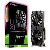 Placa de Vídeo EVGA NVIDIA GeForce GTX 1660 XC Ultra Gaming 6GB, GDDR5 - 06G-P4-1167-KR