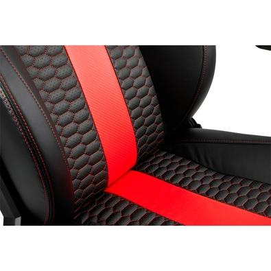 Cadeira Gamer Corsair T2 Road Warrior, Black Red - CF-9010008-WW