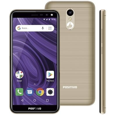 Smartphone Positivo Twist 2 Fit S512, 16GB, 8MP, Tela 5.3´, Dourado - 3900991