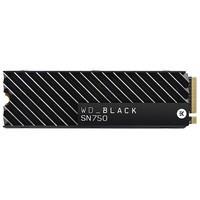 SSD WD Black SN750 Heatsink, 500GB, M.2 NVMe, Leit..