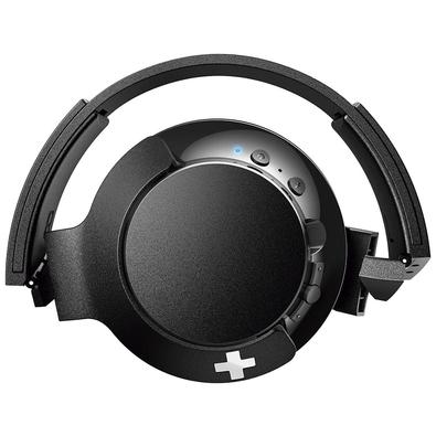 Headset Bluetooth Philips Bass+ Preto - SHB3175BK/00