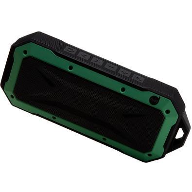 Caixa de Som Dazz Adventure, Bluetooth, 6W, Preta e Verde - 6014281