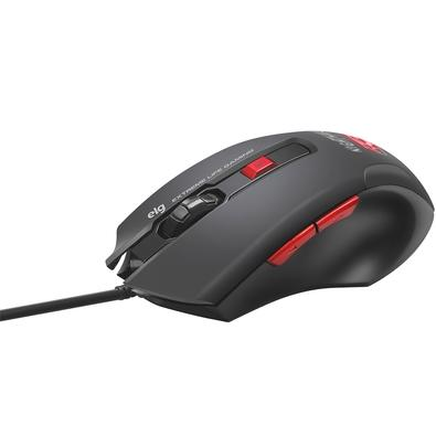 Mouse Gamer ELG Extreme Nightmare, LED, 6 Botões, 4000DPI - MGNM