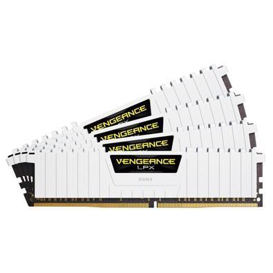 Memória Ram 32gb Kit(4x8gb) Ddr4 2666mhz Cmk32gx4m4a2666c16w Corsair