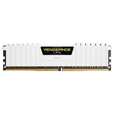 Memória Corsair Vengeance LPX, 32GB (4x8GB), 2666Hz, DDR4, C16, Branco - CMK32GX4M4A2666C16W