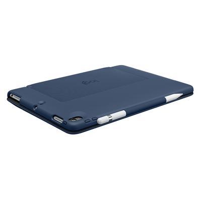 Capa Logitech Slim Combo Com Teclado Iluminado Para iPad Pro 10.5´ Azul - 920-008409