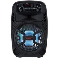 Caixa de Som Amplificadora TRC 510, Bluetooth, USB, LED, Speaker 8´, 100W