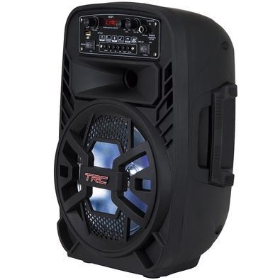 Caixa de Som Amplificadora TRC 510, Bluetooth, USB, LED, Speaker 8´, 100W