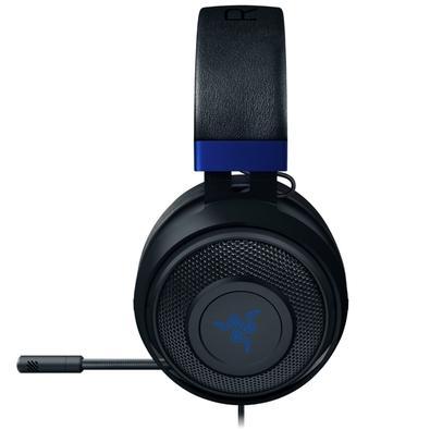 Headset Gamer Razer Kraken, Drivers 50mm, PS4/Xbox One/Switch/PC, Preto/Azul - RZ04-02830500-R3U1