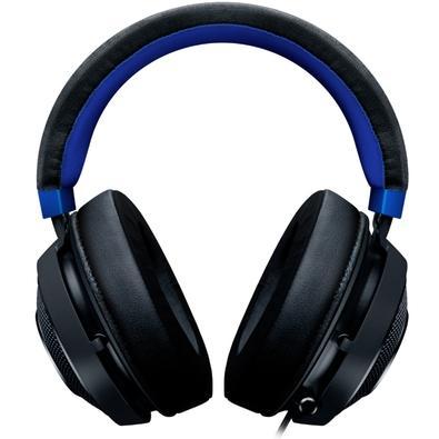 Headset Gamer Razer Kraken Multi Platform, Drivers 50mm, Console Black/Blue - RZ04-02830500-R3U1
