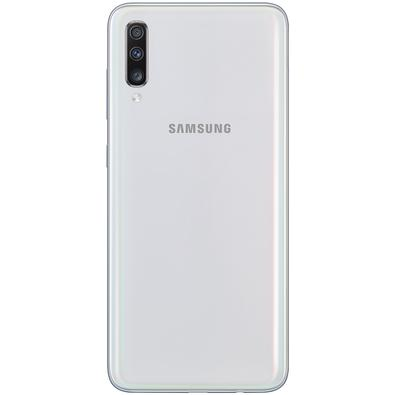 Smartphone Samsung Galaxy A70, 128GB, 32MP, Tela 6.7´, Branco - SM-A705MN/1DL