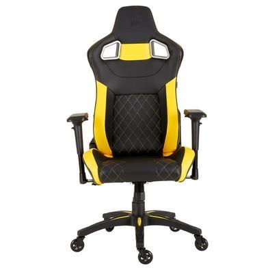 Cadeira Gamer Corsair T1 Race, Preto/Amarelo - CF-9010015