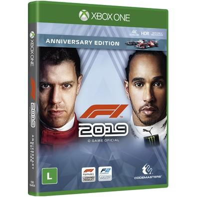Game F1 2019 Anniversary Edition Xbox One