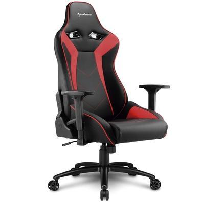 Cadeira Gamer Sharkoon Shark Elbrus 3, Black Red