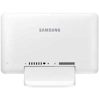 All in One Samsung E1, Intel Celeron 3865U, 4GB, 500GB, 21.5´, Windows 10 Home, Branco - DP500A2M-KW1BR