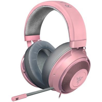 Headset Gamer Razer Kraken Multi Platform, P2, Drivers 50mm, Quartz Pink - RZ04-02830300-R3M1