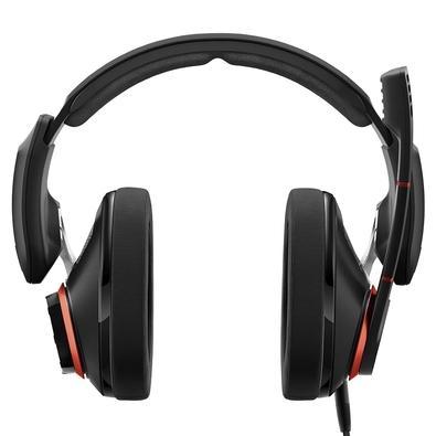 Headset Gamer Epos Sennheiser GSP 500, Preto e Vermelho, P2 - 507261