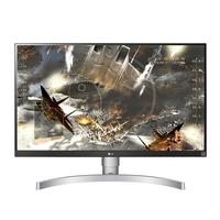 Monitor LG LED 27´ Widescreen 4K, IPS, HDMI/Display Port, Ajuste de Altura, Branco - 27UL650-W