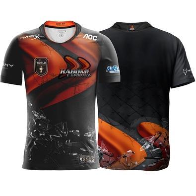 Camiseta Comemorativa KaBuM e-Sports 5 anos do Primeiro Título - Tamanho P