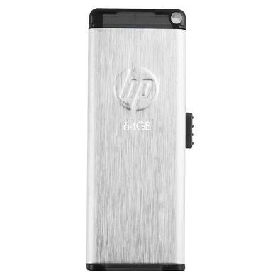 Pen drive HP V257W, 64GB, USB 2.0, Prata - HPFD257W-64