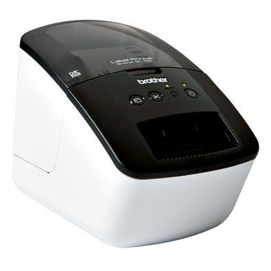 Impressora de Etiquetas Brother QL700, Até 300x600 DPI, USB