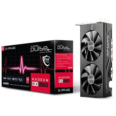 Placa de Vídeo Sapphire AMD Radeon RX 590, 8GB, GDDR5 - 11289-06-20G
