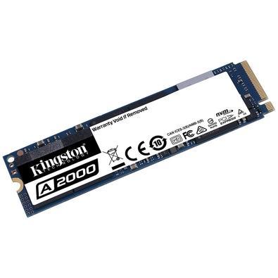 SSD Kingston A2000, 500GB, M.2 NVMe, Leitura 2200MB/s, Gravação 2000MB/s - SA2000M8/500G