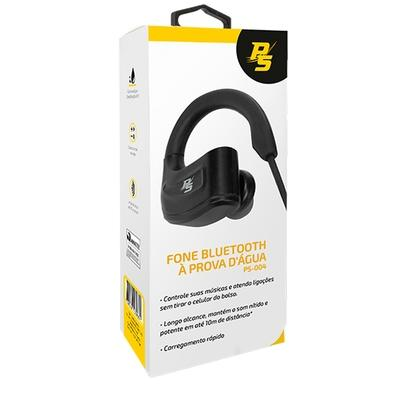 Fone de Ouvido Bluetooth Performance Sound PS-004, Com Microfone, Recarregável, À Prova D´Água - 043-0004