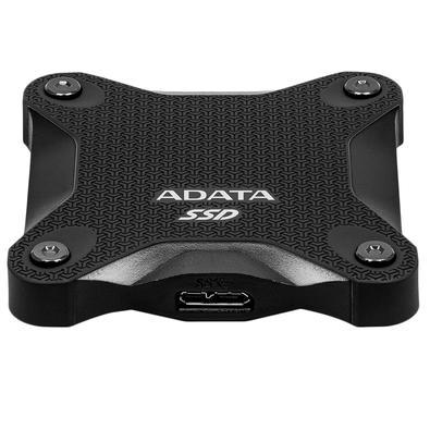 SSD Externo Adata SD600Q, 240GB, SATA, Leitura 440MB/s, Gravação 440MB/s - ASD600Q-240GU31-CBK