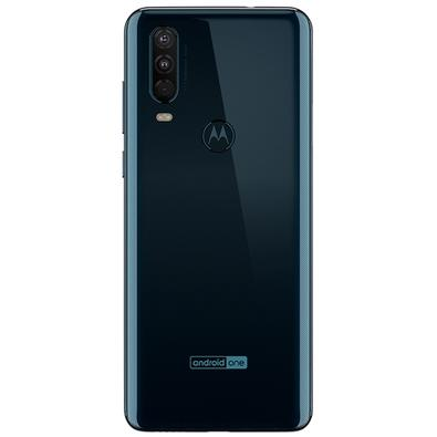 Smartphone Motorola Moto One Action, 128GB, 16MP, Tela 6.3´, Azul Denim + Capa - XT2013-1