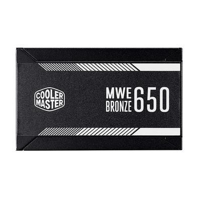Fonte Cooler Master MWE Bronze V2 650W, 80 Plus Bronze - MPE-6501-ACAAB-BR