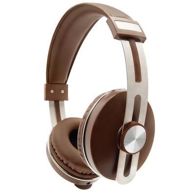 Fone de Ouvido Bluetooth Geonav AerUrban, Recarregável, Marrom - AER04BN