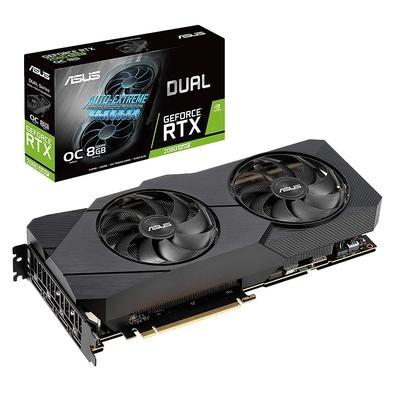 Placa de Vídeo Asus NVIDIA Dual GeForce RTX 2080 Super EVO OC 8GB, GDDR6 - DUAL-RTX2080S-O8G-EVO