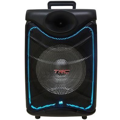 Caixa de Som Amplificada TRC 517, Bluetooth, USB, LED, 190W RMS - TRC 517