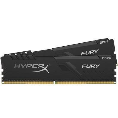 Memória Ram Fury 32gb Kit(2x16gb) Ddr4 2400mhz Hx424c15fb3k2/32 Hyperx