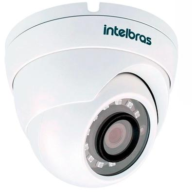 Câmera Dome Intelbras VHD 3220 D G4, Lente 2.8mm, IR 20m, Multi HD, Infravermelho - 4565269