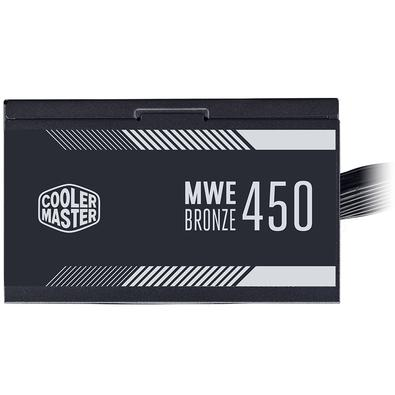 Fonte Cooler Master MWE Bronze, 450W, 80 Plus Bronze - MPE-4501-ACAAB-BR