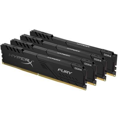 Memória HyperX Fury, 64GB (4x16GB), 3000MHz, DDR4, CL15, Preto - HX430C15FB3K4/64