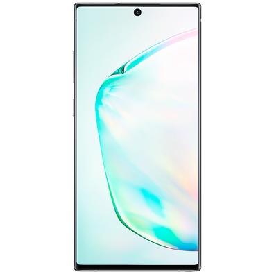 Smartphone Samsung Galaxy Note10+, 256GB, 16MP, Tela 6.8´, Prata + Caneta - N975FZSRZTO