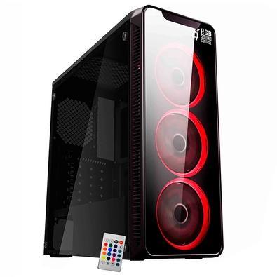 Computador Gamer NTC Vulcano II 7114, AMD Ryzen 5 3400G, 8GB, SSD 240GB, Windows 10 PRO + Versão de Avaliação 30 dias