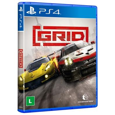 Jogo Grid - Playstation 4 - Codemasters